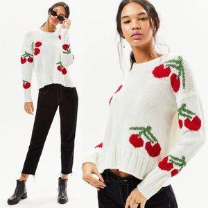 Cherry Sweater Lottie Moss